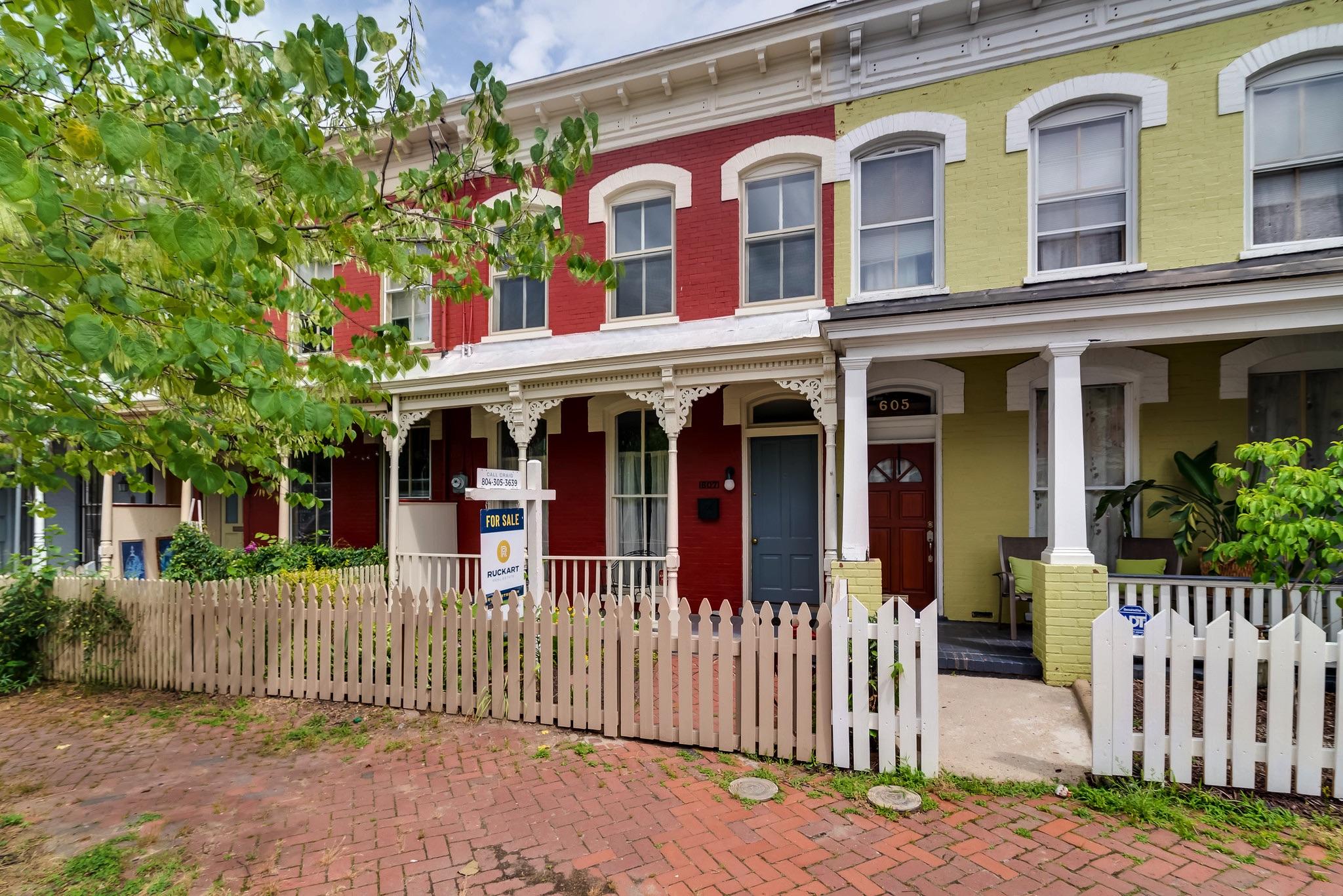 Italianate homes in Richmond